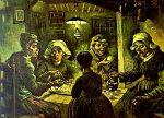 De aardappeleters door Vincent van Gogh.