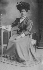 Anna Maria Ijzermans, moeder van Peet omstreeks 1910