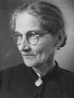 Moeder van Peet ca 1945