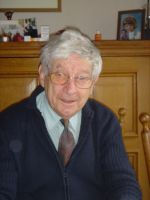 Peet in 2006 thuis in zijn vertrouwde omgeving